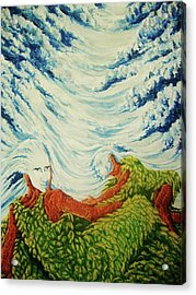 Mother Nature Acrylic Print by Pralhad Gurung