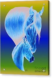 Mother's Love Acrylic Print by Sheryl Unwin