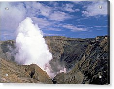 Acrylic Print featuring the photograph Mount Aso by Travel Pics