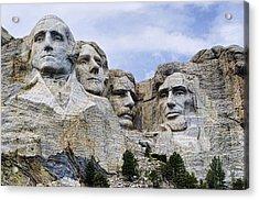 Mount Rushmore National Monument Acrylic Print by Jon Berghoff