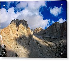 Mount Whitney Trail Acrylic Print by Scott McGuire