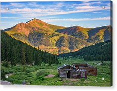 Mountain Views Acrylic Print by Darren White