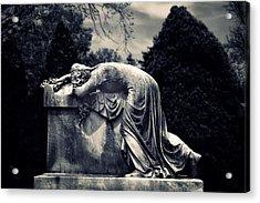 Mournful Acrylic Print by Jessica Jenney