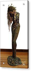 Mourning Moss A Sculpture By Adam Long Acrylic Print by Adam Long