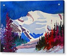 Mt. Wilson Acrylic Print by Mohamed Hirji