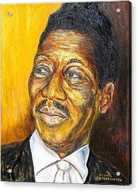 Muddy Waters Acrylic Print by Michael Titherington