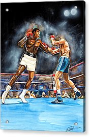 Muhammad Ali Acrylic Print by Dave Olsen