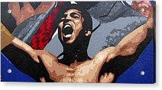 Muhammad Ali Acrylic Print by Roberto Valdes Sanchez
