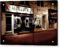 Mundays Acrylic Print by Michael Simeone