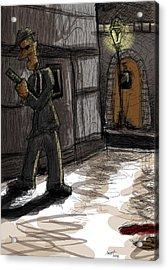 Murder At Number 5 Acrylic Print by Sasank Gopinathan