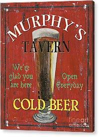 Murphy's Tavern Acrylic Print by Debbie DeWitt