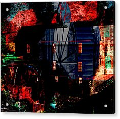 Murrays Mill Revisited Acrylic Print by MW Robbins