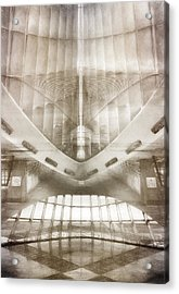 Museum Inside Out Acrylic Print by Scott Norris