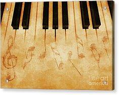 Music Acrylic Print by Giordano Aita