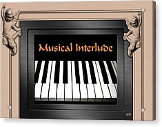 Musical Interlude Acrylic Print by Will Borden