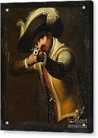 Musketeer Acrylic Print by Frederick Holiday