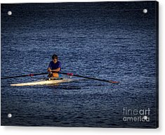 Must Get Faster Acrylic Print by Marvin Spates