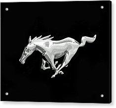 Mustang Acrylic Print by Rona Black