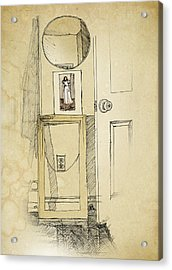 My Favorite Whistler Acrylic Print by Ch' Brown