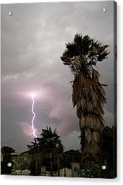 My First Bolt Acrylic Print by James Granberry