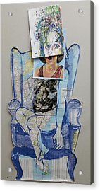 My Foot Is In Miami Acrylic Print by Tilly Strauss
