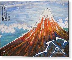 My Fugaku 36 Kei By Taikan Acrylic Print by Taikan Nishimoto