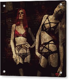 My Love As No Beginning My Love Has No End  Acrylic Print by Paul Lovering