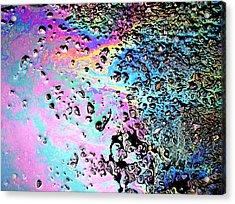 My Obsession With Asphalt II Acrylic Print by Anna Villarreal Garbis