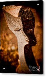 My Shadow And I Acrylic Print by Venetta Archer
