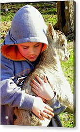 My Very Own Acrylic Print by Karen Wiles