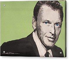 My Way - Frank Sinatra Acrylic Print by Eric Dee