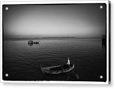 Myanmar Lost In Time 9 Acrylic Print by David Longstreath