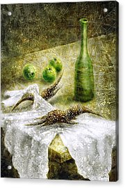 Mysterious Movement Acrylic Print by Lolita Bronzini