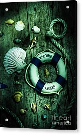Mystery Aboard The Sunken Cruise Line Acrylic Print by Jorgo Photography - Wall Art Gallery