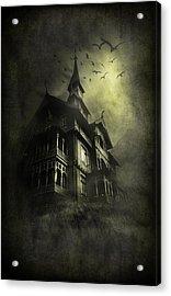 Mystery Light Acrylic Print by Svetlana Sewell