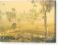 Mystical Lake Acrylic Print by Jorgo Photography - Wall Art Gallery