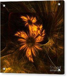 Mystique Garden Acrylic Print by Oni H