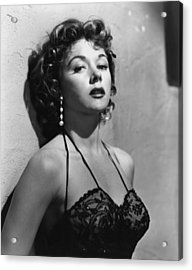 Naked Alibi, Gloria Grahame, 1954 Acrylic Print by Everett