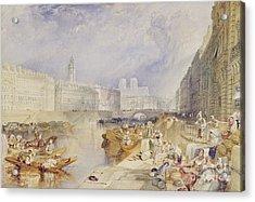 Nantes Acrylic Print by Joseph Mallord William Turner