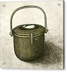 Nantucket Basket Acrylic Print by Charles Harden