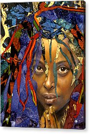 Naomi 3.1 Acrylic Print by Gary Williams