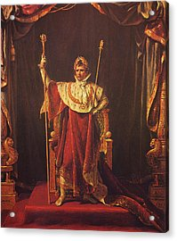 Napoleon Acrylic Print by War Is Hell Store