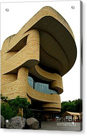 National Museum Of The American Indian 1 Acrylic Print by Randall Weidner