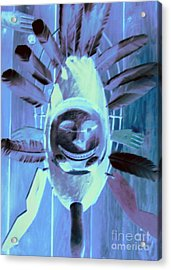 National Museum Of The American Indian 9 Acrylic Print by Randall Weidner