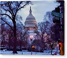 Nations Capitol Acrylic Print by Jimmy Ostgard