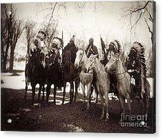 Native American Chiefs Acrylic Print by Granger