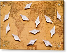 Nautical Adventure Acrylic Print by Jorgo Photography - Wall Art Gallery