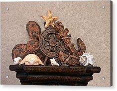 Nautical Still Life Iv Acrylic Print by Tom Mc Nemar