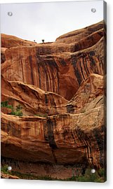 Near Moab 1 Acrylic Print by Marty Koch