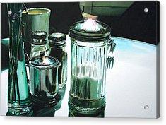 Necessities Acrylic Print by Denny Bond